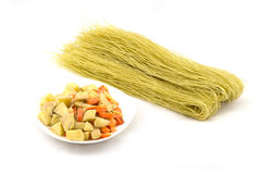 Chinese vermicelli(bean starch noodles) Royalty Free Stock Photo