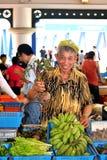 Chinese Verse Groentenverkoper Stock Afbeeldingen