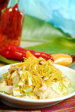 Chinese and Vietnamese food Stock Images