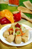 Chinese and Vietnamese food Stock Photo