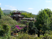 Chinese villa Royalty Free Stock Photos