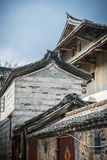 Chinese Village,Yongding,Fujian Stock Photos
