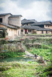 Chinese Village,Yongding,Fujian Royalty Free Stock Image
