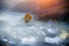 Chinese village Royalty Free Stock Photo