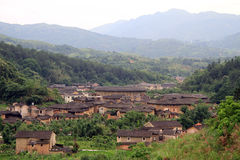 Chinese village Stock Image