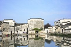 In a Chinese Village Royalty Free Stock Photo