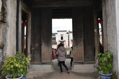 Chinese Village Royalty Free Stock Photos