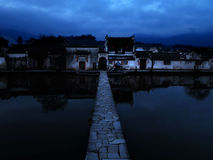 Chinese village Royalty Free Stock Images