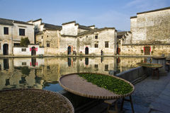 Chinese village,hongcun Stock Image