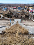 Chinese village near the beijing Royalty Free Stock Photography