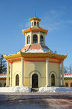 The Chinese Village in Pushkin. One building of the Chinese Village in the Alexander's park, Pushkin (Tsarskoye Selo) town - Saint Petersburg's suburb, Russia Royalty Free Stock Photo