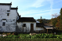 Chinese village Qinghua Stock Photography
