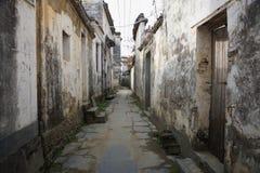 Chinese village YanCun,Wuyuan Royalty Free Stock Photography