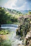 Chinese Village,Yongding,Fujian Royalty Free Stock Photo