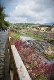 Chinese Village,Yongding,Fujian Stock Photo