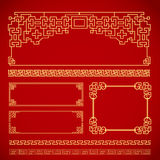 Chinese vintage frame Stock Photography