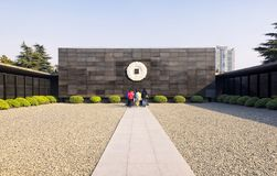 Nanjing Massacre Museum Site Royalty Free Stock Images