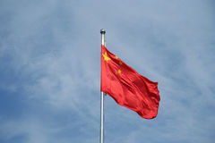 Chinese vlag Stock Foto