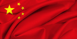 Chinese Vlag - China Stock Foto