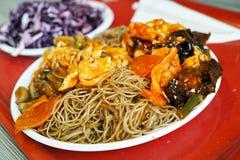 Chinese voedseldetails royalty-vrije stock fotografie
