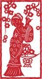 Chinese vrouw Royalty-vrije Stock Foto