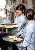 Chinese Waitress Stock Photography
