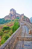 The Chinese Wall autumnal scenery Stock Images