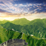 Chinese Wall Dawn Stock Photos
