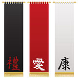 Chinese wall hangings Royalty Free Stock Photography