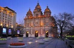 Chinese Wangfujing church , Beijing,China Royalty Free Stock Photos