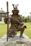 Chinese warrior statue Royalty Free Stock Image