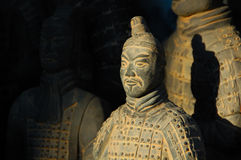 Chinese Warrior Statue Stock Photography