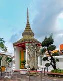 Chinese Warrior Statue In The Wat Pho, Bangkok, Thailand. Stock Photos