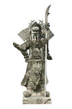 Chinese warrior statues. Royalty Free Stock Images