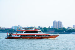 Chinese water bus Royalty Free Stock Images