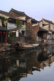 Chinese water town Xitang Stock Images