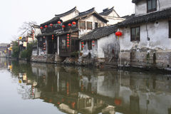 The Chinese water town - Xitang 5 Royalty Free Stock Images
