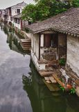 Chinese water village Stock Images