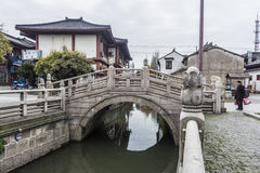 Chinese water village Royalty Free Stock Photos