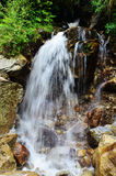 Chinese waterfall in Tibet Stock Image