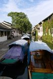 Chinese Waterstad Zhouzhuang Royalty-vrije Stock Fotografie