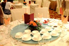 The Chinese wedding banquet royalty free stock image