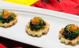 Chinese wedding banquet tarts Stock Photo