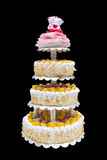 Chinese Wedding Cake Royalty Free Stock Photos