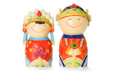 Chinese wedding figurines Stock Photography