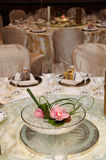 Chinese wedding table set Stock Photography