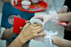 Chinese Wedding Tea Ceremony Royalty Free Stock Photos
