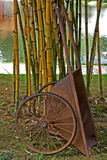 Chinese Wheelbarrow in Singapore Stock Images