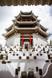 Chinese White Castle in Thailand. Stock Images
