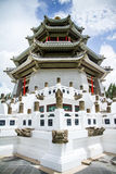 Chinese White Castle in Thailand. Stock Image